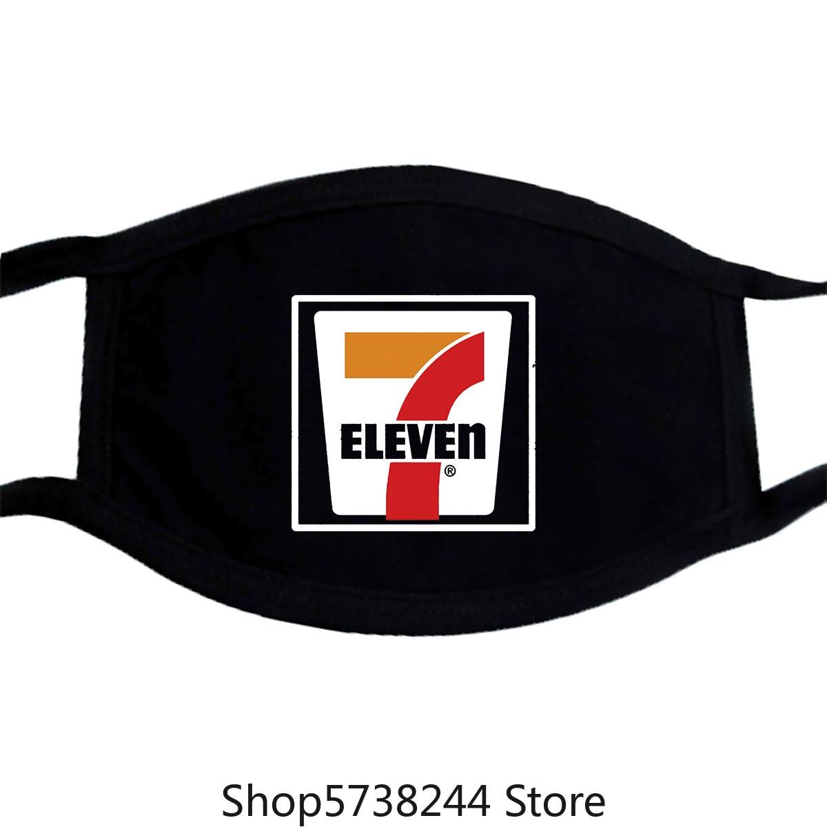 7-11, Seven, Eleven, Retro, Distressed, Logo, Mask Washable Reusable Mask