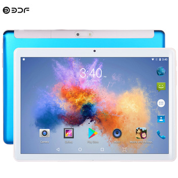 10.1 inch Phone Sim Card Phone Call Tablet 2.5D Steel Screen Android 7.0 Quad Core 1GB RAM 32GB ROM WiFi Bluetooth GPS Tablet PC bobarry s106 10 1 tablets android8 0 octa core ram 6gb rom 128gb dual camera 8mp dual sim tablet pc wifi gps bluetooth phone