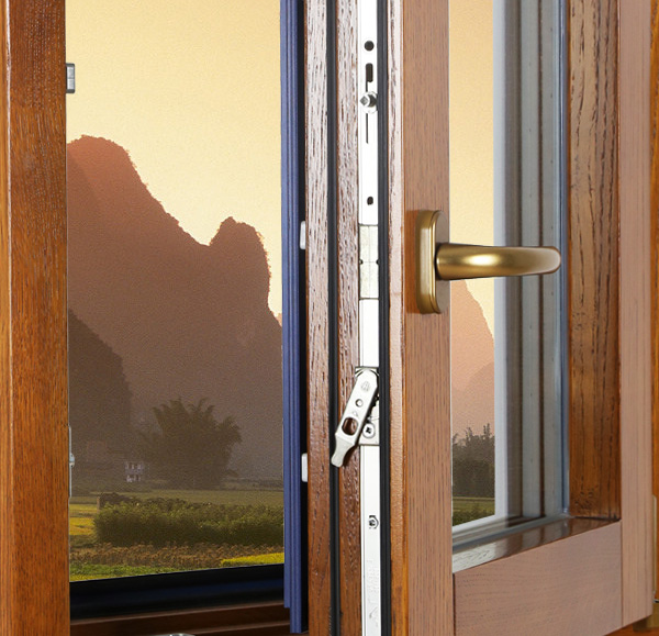 Hench China Wooden Aluminum Doors Windows  Bi-folding Doors Wholesale Factory Hc-a1