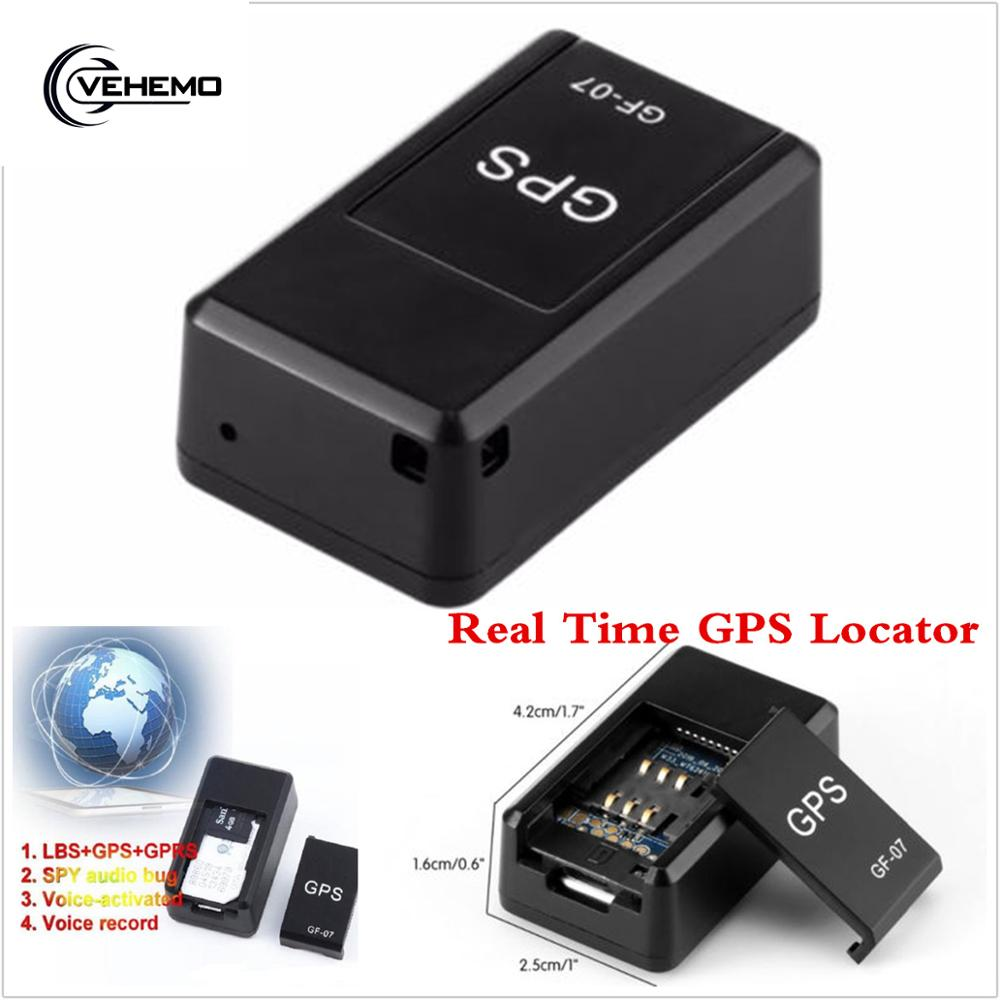 GF07 GSM GPRS мини автомобильный gps трекер Магнитный автомобиль грузовик gps локатор анти-потеря записи отслеживающее устройство может голосовое ...