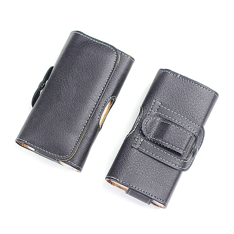 Universal 2.6-6.0 Inch Anti-drop Mobile Phone Waist Belt Clip Bags Case Cover For IPhone Samsung Huawei With Magnetic Buckle