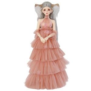 Image 5 - Fairyland FL Feeple60 Rendia baby dolls 실리콘 bjd 1/3 바디 모델 소녀 소년 인형 눈 수지