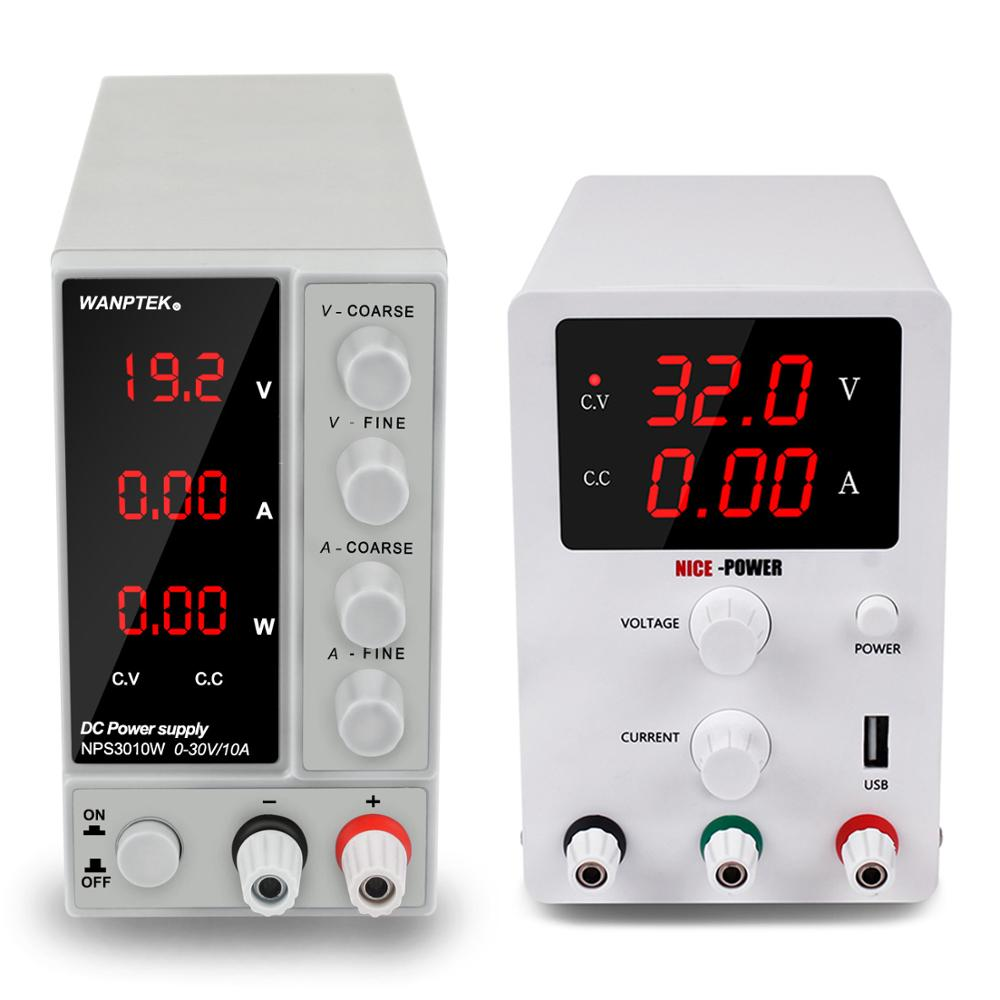 Le plus nouveau réglable alimentation de laboratoire 30v 10a 60v 5a commuté source fonte de bancada tension et régulateur de courant 220v 110