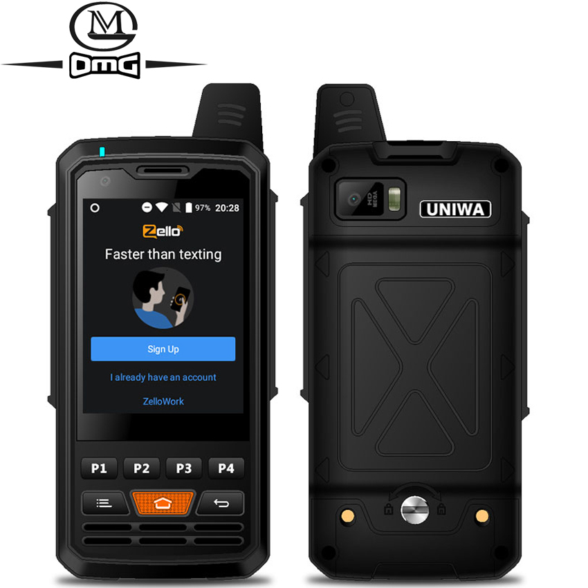 4000mAh mobile phone Zello Walkie Talkie Android 6.0 MTK6735 Quad Core 1GB RAM 8GB ROM Unlock Single sim 4G Smartphone F50