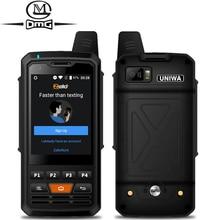 4000mAh mobile phone Zello Walkie Talkie Android 6.0 MTK6735 Quad Core 1GB RAM 8GB ROM Unlock Single sim 4G Smartphone F50