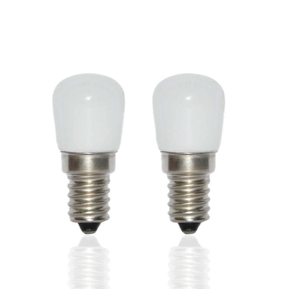 Bombilla LED COB E14 de 220V, 3W SMD 2835, lámpara de cristal para nevera, congelador, máquina de coser, lámparas de iluminación para el hogar
