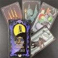 Der Albtraum Vor Weihnachten Tarot Deck und Reiseführer 78 Karten Deck und Karte Spiel Brettspiel Divination Sagen die Zukunft SPIELZEUG