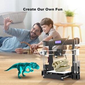 Image 5 - חדש Anet A8 שולחן העבודה DIY 3D מדפסת ערכת Impresora 3D עם מיקרו SD כרטיס USB חיבור