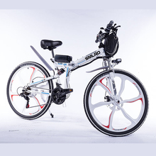 SMLRO26inch electric bike 48V 10AH  Integrated Wheel 350W/500W Max Motor ebike onsale bm1418hqf 350w 48v electric tricycle differential motor dc motor electric motor bicycle