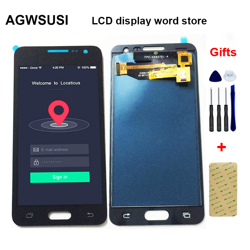 For Samsung A3 2015 LCD A300 A300F Display A300M A300X A300H A300FU A300FN LCD Panel + Touch Screen Digitizer Sensor Assembly