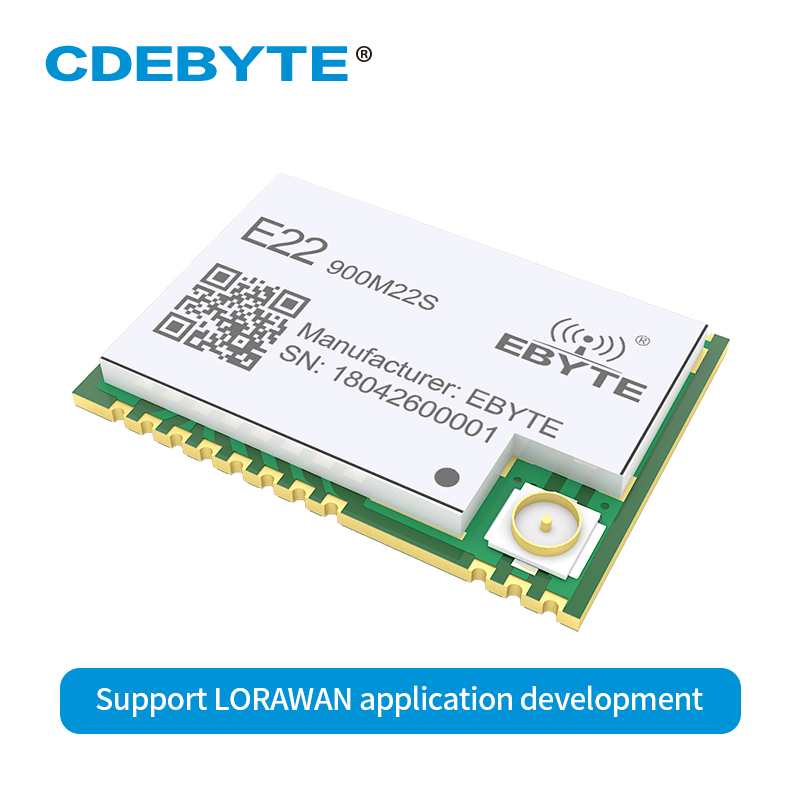 Ebyte E22-900M22S SX1262 LoRa 22dBm 915 МГц длинный диапазон SMD IPEX РЧ модуль для LDO DC-DC источник питания