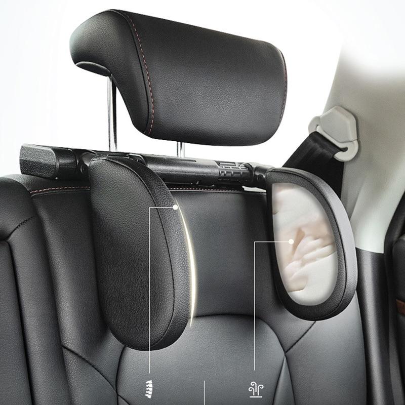new car seat neck pillow sleep side head support high elasticity for volvo s40 s60 s80 xc60 xc90 v40 v60 c30 xc70 v70