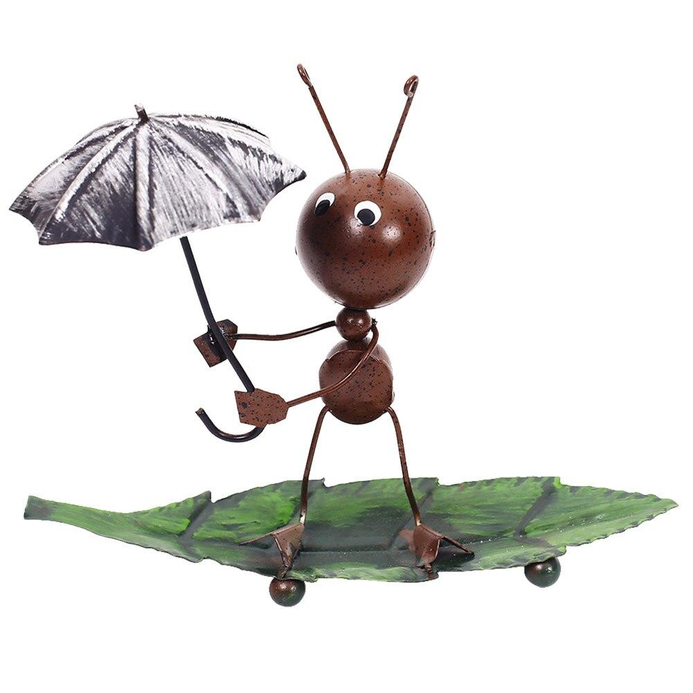 Подарочная Статуэтка муравья, элегантная статуэтка, украшение для дома, мультяшная модель, украшение для стола, спальни, гостиной, офиса, ба...