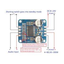 YDA138 DC12V 2A 2x15 Вт Bluetooth усилитель модуль цифровой аудио Плата класса D канальный усилитель мощности для Yamaha