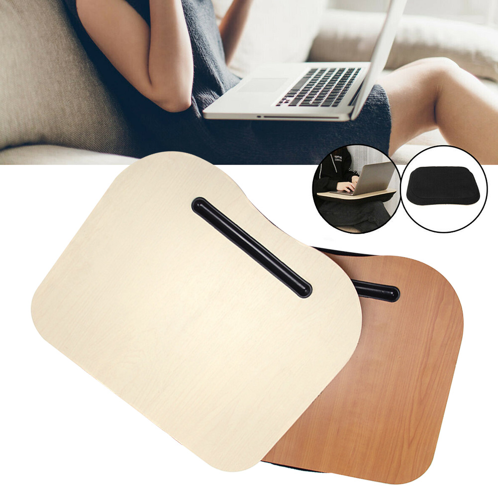 Multi-Function Knee Desk,Lap Desk,Laptop Stand with Cushion Wood Platform on Bed Sofa as Book Stand//Sleeping Pillow//Knee Desk