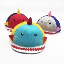 Шапочка для малышей, милая шапочка для новорожденных с мультяшным принтом, новая дизайнерская Детская кепка для девочек и мальчиков, Повседневные детские шапки для новорожденных, синие, красные, розовые