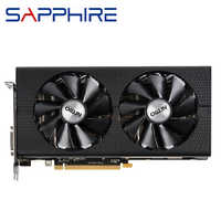 SAPPHIRE Radeon RX 480 4GB Graphics Cards GPU AMD RX480 4G Video Cards Computer PC Game Map HDMI PCI-E X16 Videocard Not Mining