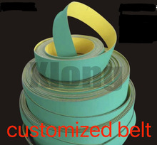 820x25x2mm Nylon Chip Base Band Textile Flat Belt Conveyor Transmission Timing Belt