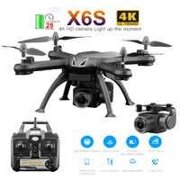 Drone 4 K/1080 p X 6S Teufel HD kamera quadcopter 25 minuten lange flug zeit fpv drohnen mit kamera hd Rc Luft Flugzeug Flugzeug