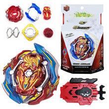 Burst GT Booster Union Achilles Cn Gyro Spinning Top avec lanceur Juguetes Metal Fusion Gyroscope jouets pour enfants garçons