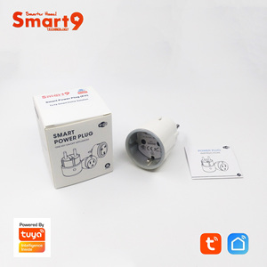"Image 4 - Smart9 מיני Wifi חכם תקע, 16A עם מדידת כוח Max. 3680 W, FR האיחוד האירופי ארה""ב סוג חכם חיים APP שלט, מופעל על ידי TuYa"