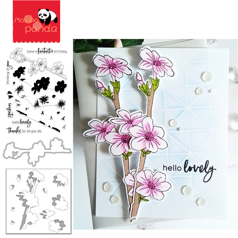 Just Jasmine Metal Cutting Dies And Stamps And Stencil For DIY Embossing Paper Photo Album Gift Cards Making New Dies