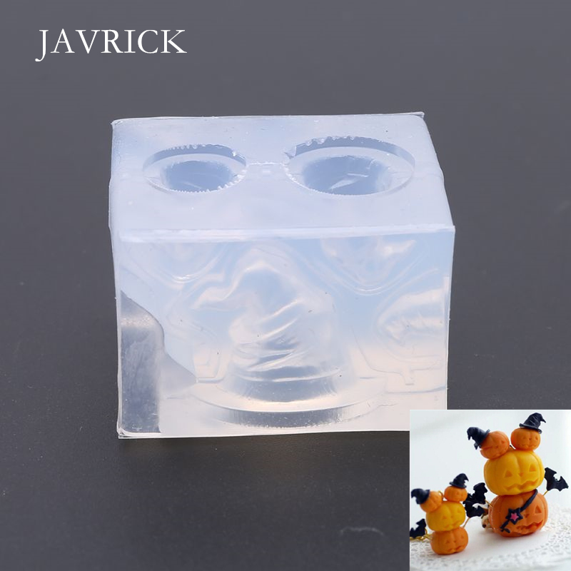 DIY Clear Silicone Stereo Pumpkin Mini Witch Hat Mold DIY Accessories Jewelry Making Tools Resin Craft Epoxy Molds