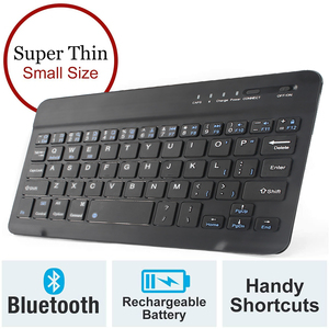 Bluetooth Keyboard Mini Wireless Keyboards Compatible With IOS Windows Rechargeable Keyboard for Mac ipad Phone Tablet Android(China)