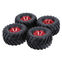 4Pcs RC Tires RC Car 1/10 Truck Tire Tyres Wheels for Traxxas HSP Tamiya HPI Kyosho Model RC Rock Crawler Car Parts