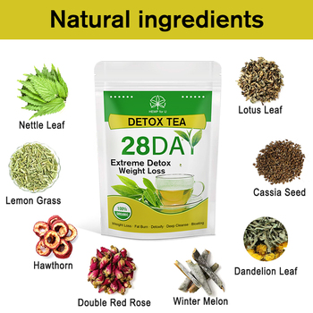 HFU Slimming Tea Detox Product Speed Weight Loss Fat Burns Oil Scraping Reduce Fat Cleans Intestine Reduce Bloating Constipation 2