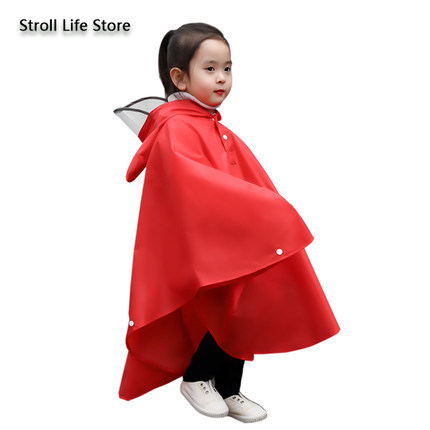 Yellow Raincoat Kids Child Poncho Girls Boys Waterproof Pink Rain Coat Suit Hiking Rain Jacket Kids Capa De Chuva Gift Ideas 1