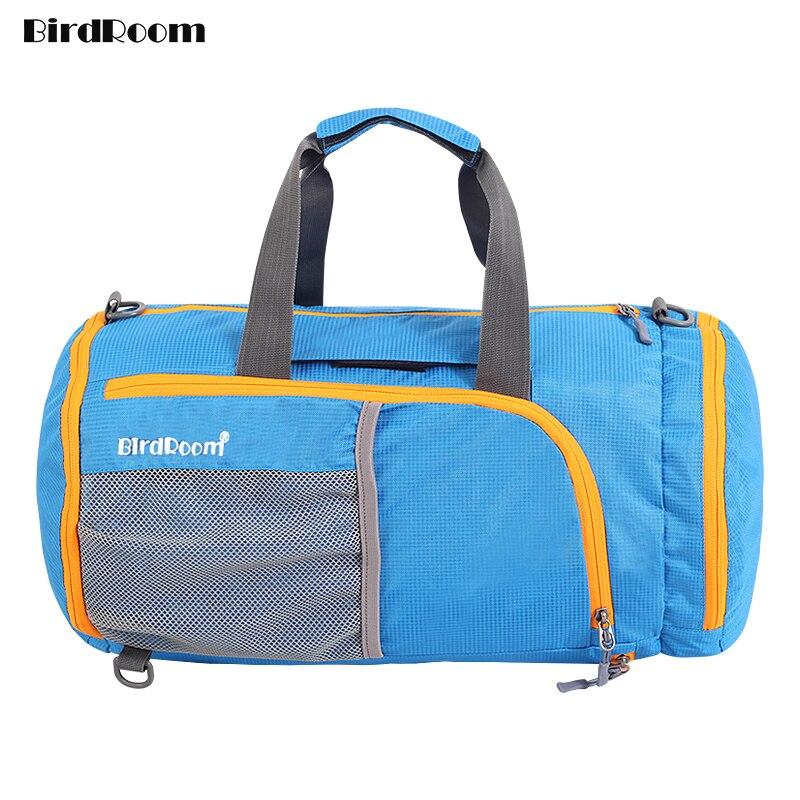 Multifunction Luggage Bags Travel Handbag Tote Women Gym Large Sack Men Receive Package Sports Portable Folding Nylon Waterproof