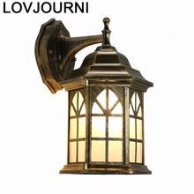 Sconce Kinkiety Lampen Modern Arandela Deco Maison Lampe Bathroom Lamp Applique Murale Luminaire Wandlamp Bedroom Wall Light