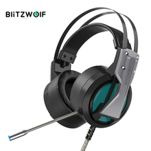 BlitzWolf BW GH1 Gaming Headphone with Microphone 7.1 Surround Sound Noise Isolating Game Headset Gaming for Computer PC for PS4