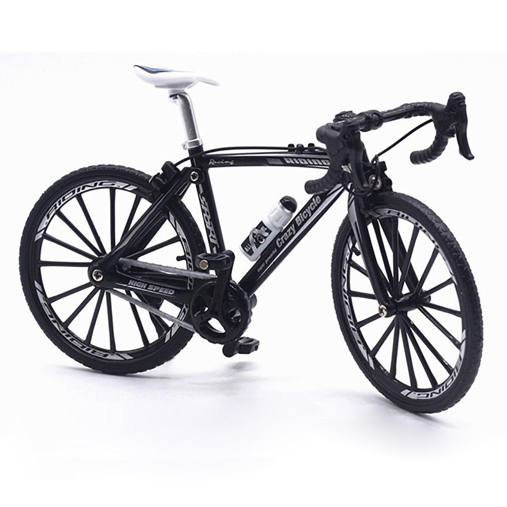 1//8 Diecast Metal Vélo Modèle Couleur Noire
