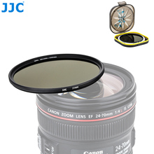 JJC filtro de densidad neutra ND1000 para lente de cámara DSLR, sin Espejo, 10 pares, 49mm, 52mm, 55mm, 58mm, 62mm, 67mm, 72mm, 77mm, 82mm