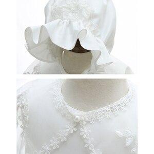 Image 5 - Iyealベビー洗礼ガウン幼児ベビーガールドレス洗礼女少女服夏ドレス結婚式3個
