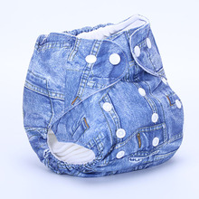 1Pcs Baby Cloth Diapers Reusable Nappy Washable soft Training Pants Cover Infant  Wrap Inserts Newborn fitted underwear