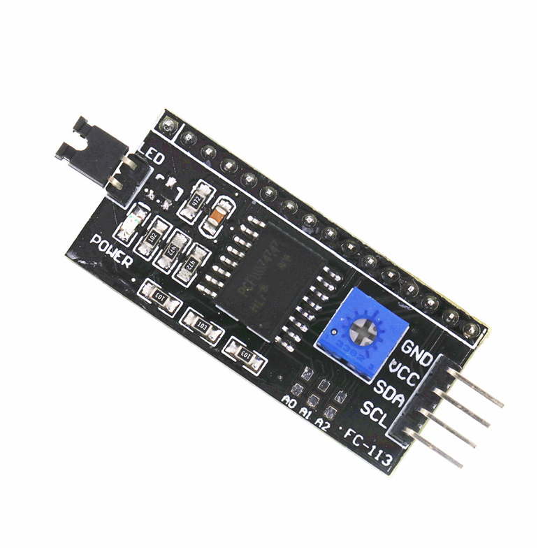 IIC I2C TWI SPI Serial Interface Board Port For Arduno 1602 2004 LCD LCD1602 Adapter Plate LCD Adapter Converter Module PCF8574
