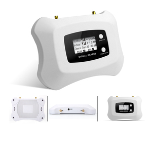 Image 4 - 뜨거운!! 가정용 Yagi + 천장 안테나 키트가있는 3G 신호 중계기 3G 2100MHz 모바일 신호 부스터 3G 휴대 전화 증폭기 키트