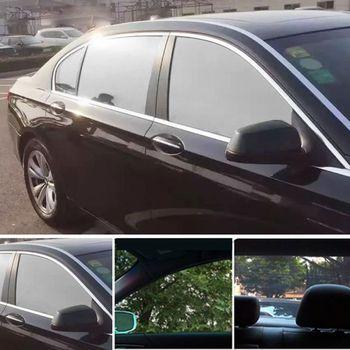 Ciemny czarny folia na okna samochodu wewnątrz jednokierunkowa kontrola odblasków odporne na wysokie temperatury Auto lato ochrona przeciwsłoneczna prywatność łazienka użytkowanie w domu tanie i dobre opinie QILEJVS CN (pochodzenie) 23GC1AA700009