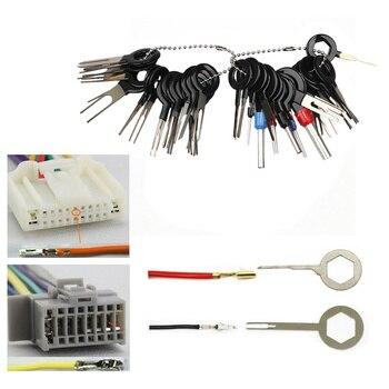 Kit de pinza de presión para cables eléctricos, Extractor de clavijas, herramientas...