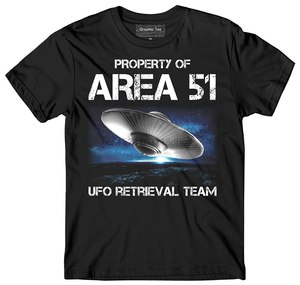 UFO t-shirt Glow in the Dark Area 51 t-shirtSpaceship t-shirt Glow in the Dark(China)