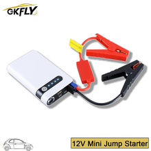 GKFLY Jump Starter Mini Portable Power Bank Emergency Battery Charger Auto Buster Booster 12V Car Starting Device Charging Start