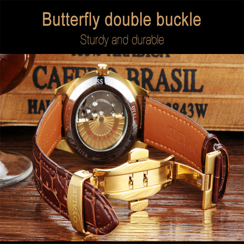 Oyalie casal relógio de moda simples relógio