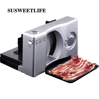 Semi-automatic Meat Slicer Commercial Home Electric Mutton Rolls Meat Grinder Machine home electric automatic meat grinder vegetable slicer high quality multifunctional household
