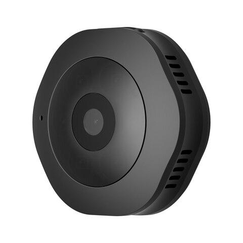 Câmera de Ação com Sensor de Movimento Gravador de Câmera Segura em Casa Noite-versão Mini Câmera Wifi dv Dvr Preto Rise-h6 hd 1080 p