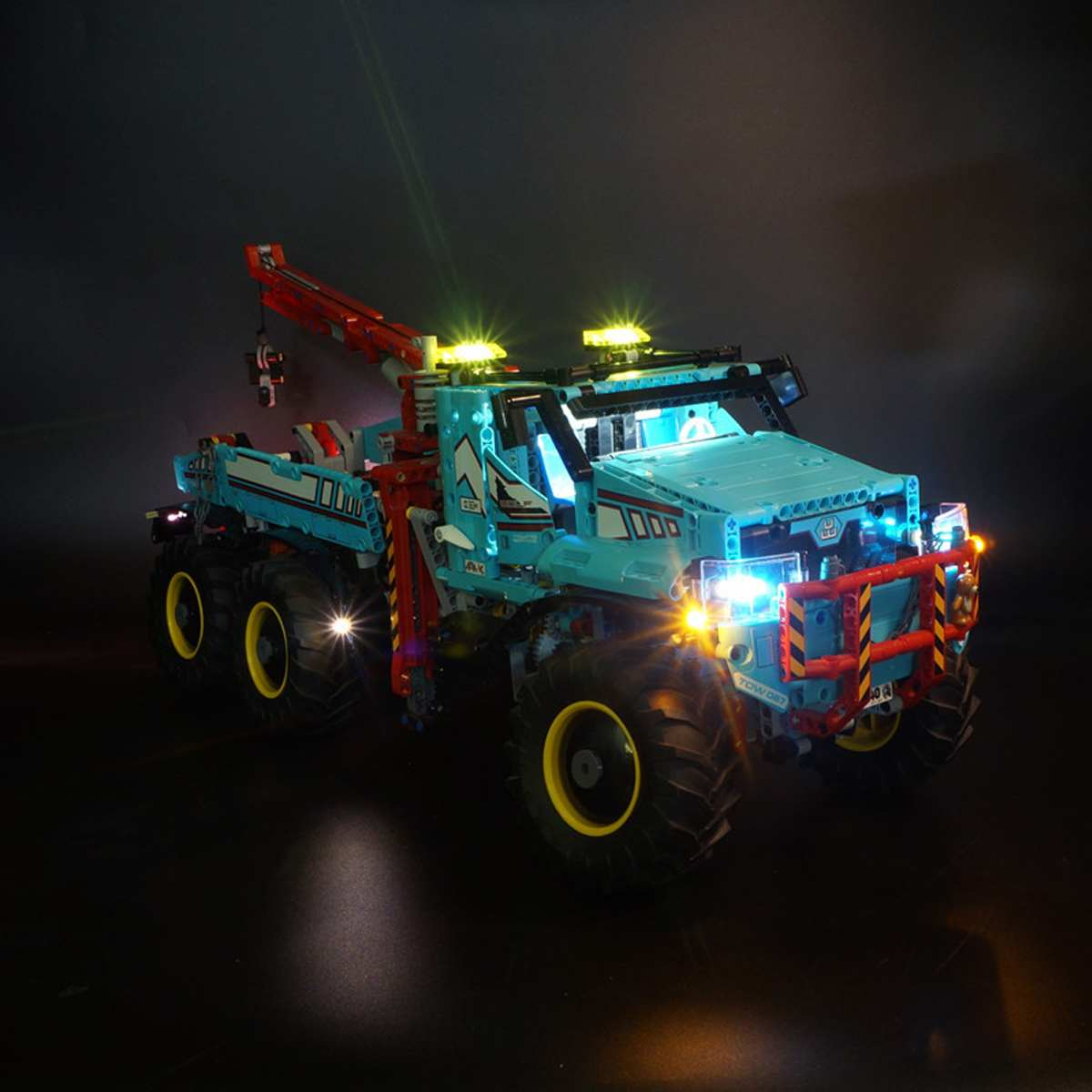 LED Light Up Kit for <font><b>LEGO</b></font> for <font><b>42070</b></font> Technic for Ultimate All Terrain Truck 6X6 Blocks Toy Bricks (Only Light Included) image
