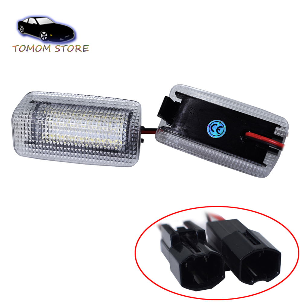 License Plate LED Light Direct Replacement White For Lexus IS ES GS LS RX CT HS