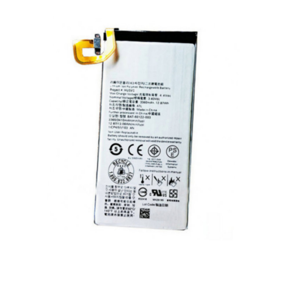 High quality Replacement Battery 3360mAh BAT-60122-003 For BlackBerry Priv STV100-1/2/3 and HUSV1 mobile phone batteries(China)